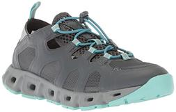 Columbia Women's Supervent Water Shoe, Graphite, Canyon Blue