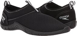 Speedo Women's Tidal Cruiser Water Shoes Black/White 7