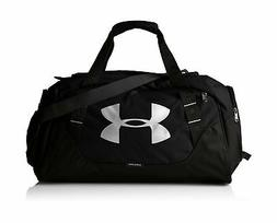 Under Armour Undeniable Duffle 3.0 Gym Bag Medium Black /Sil