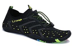 WXDZ Water Shoes Aqua Sports Sneakers Slip on Quick Dry for