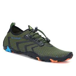 Mens Womens Water Shoes Quick Dry Barefoot for Swim Diving S