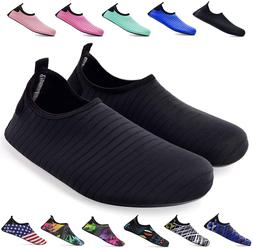 bridawn Water Shoes for Women and Men, Quick-Dry Socks Baref