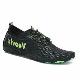 Voovix Water Shoes Men Women Quick Dry Barefoot Aqua Shoes S