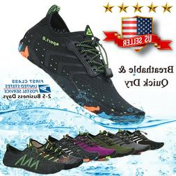 Water Shoes Quick Dry Barefoot for Swim Diving Surf Aqua Spo