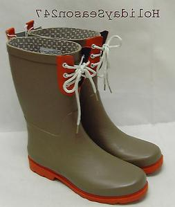 ThresHold Waterproof Gardening Boot Shoes US Women Size Gray