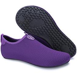 Barerun Women Men Durable Sole Barefoot Water Skin Shoes Aqu