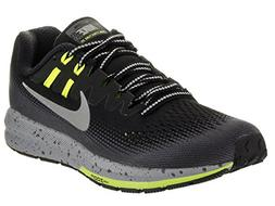 NIKE Women's WMNS Air Zoom Structure 20 Shield, Black/Metall