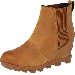 SOREL Women's Joan of Arctic Wedge II Chelsea Boots, Camel B