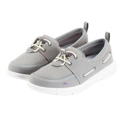 Speedo Women's Port Lightweight Breathable Water Shoe Gray S