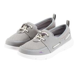 Speedo Women's Port Water Boat Shoe Gray Pick A Size, Free S