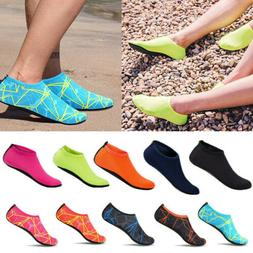 Women's Water Shoes Summer Outdoor Beach Swim Aqua Socks Qui