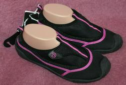 Champion Women Water Shoes Black w/ Pink Lucille