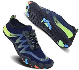 Wonesion Womens and Mens Summer Outdoor Water Shoes Aqua Soc
