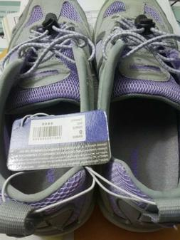 Speedo Womens Gray Purple Water Shoes Size 9. New with tags,