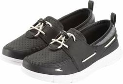 Speedo Womens Lightweight Breathable Water Shoes Black/Grey/