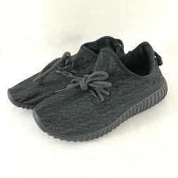 Womens Sneakers Water Shoes Fabric Mesh Slip On Lace Up Gray