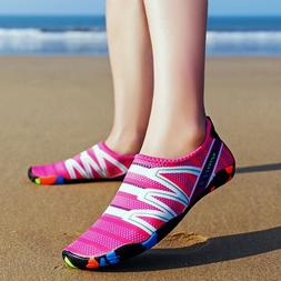 Womens Summer Outdoor Water Shoes Aqua Socks For Beach Swim