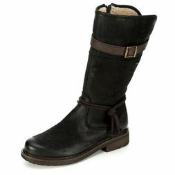 Highland Creek Womens Water Repllent Mid Calf Leather Boot S