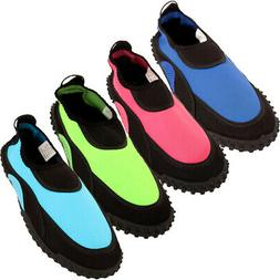 womens water shoes aqua socks bright pool