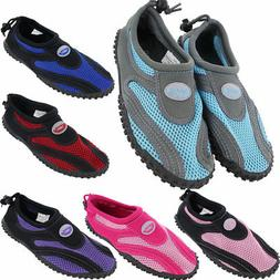 Womens Water Shoes Aqua Socks Yoga Exercise Pool Beach Dance