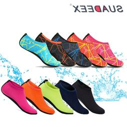 Womens Water Shoes Barefoot Skin Quick-Dry Aqua Beach Water
