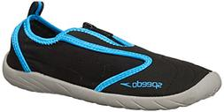 Speedo Women s Zipwalker 4.0 Water Shoe Black Turquoise 7 M